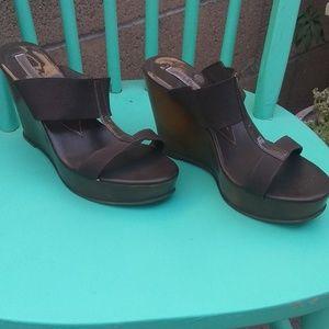 Slide sandel